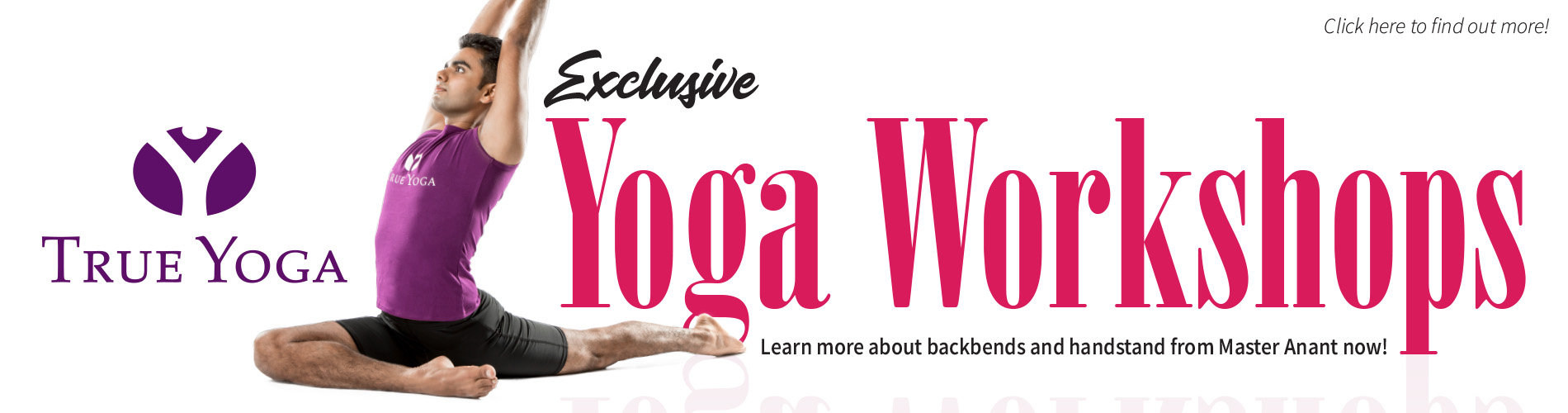 Master Anant Yoga Workshop