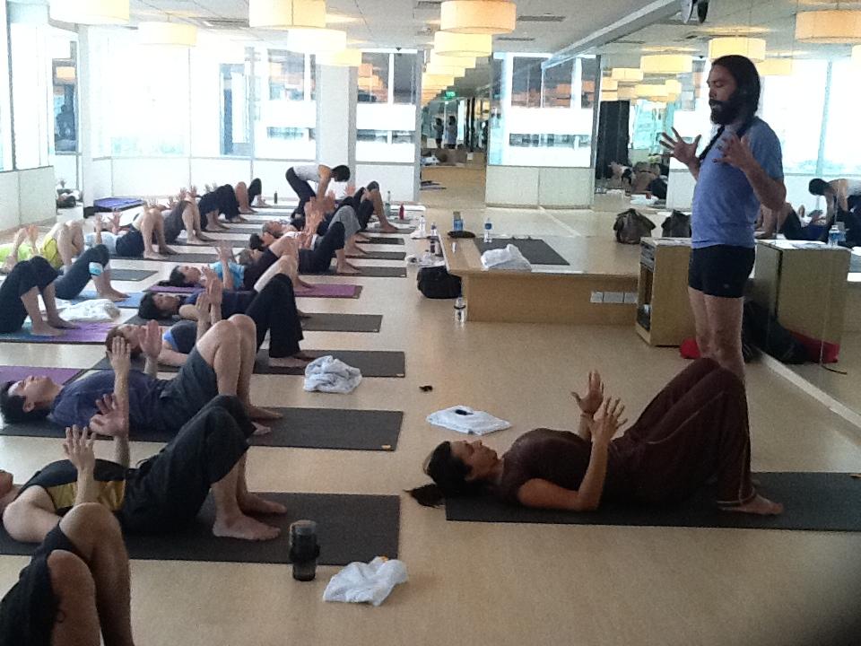 Anusara Yoga Workshop 2011