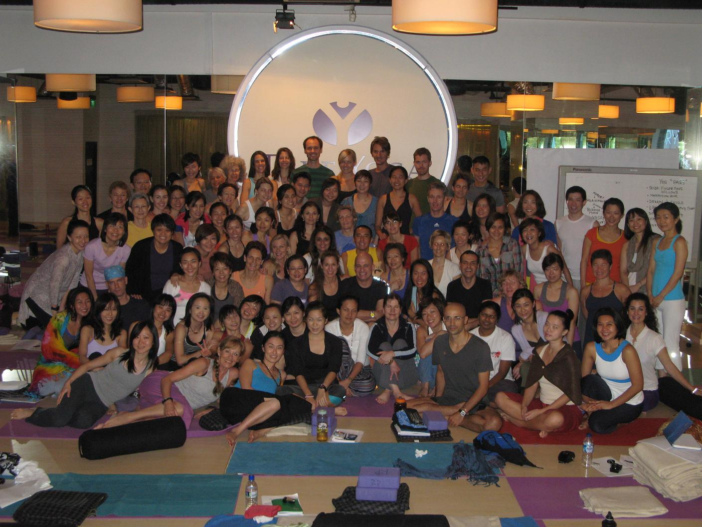 Yin Yoga Workshop & Teachers Training Workshop 2011