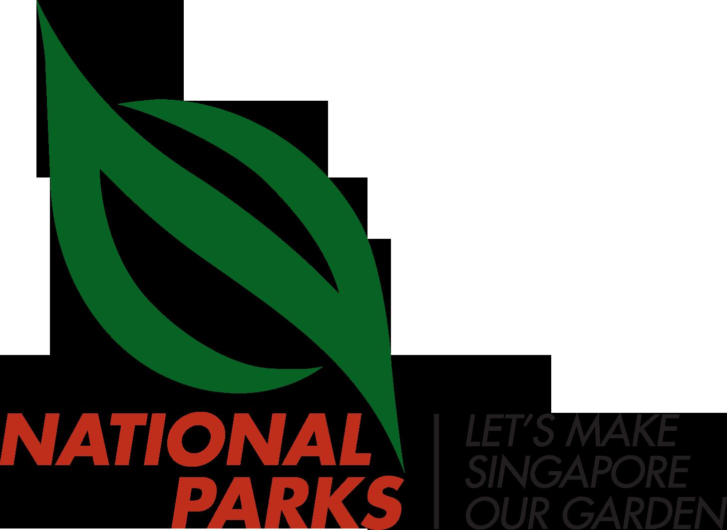 NParks Logo with tagline horizontal