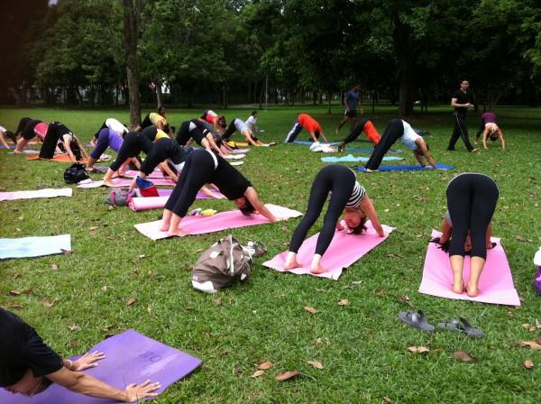 Yoga Aid 2012