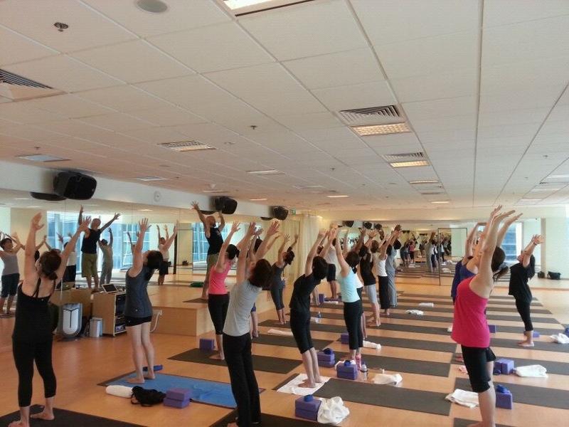 Radiantly Alive Yoga 2012