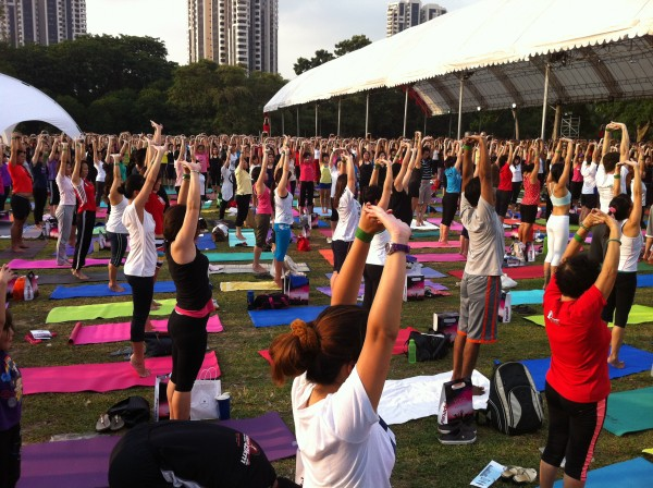Yoga by the Sea 2012